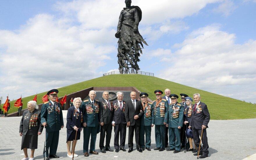 Vladimiras Putinas mini Pergalės dieną
