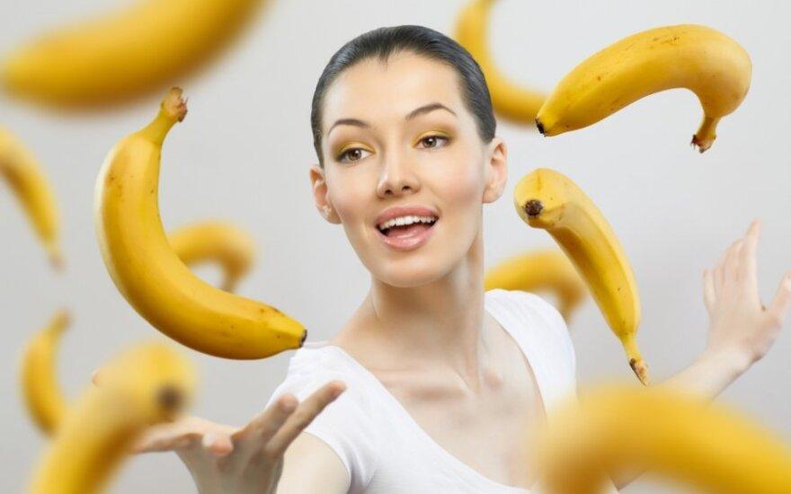 Bananų savybės, kurios jus nustebins