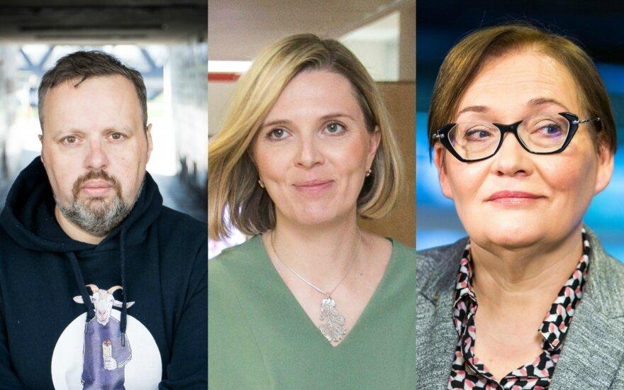Andrius Užkalnis, Agnė Bilotaitė, Aušra Maldeikienė