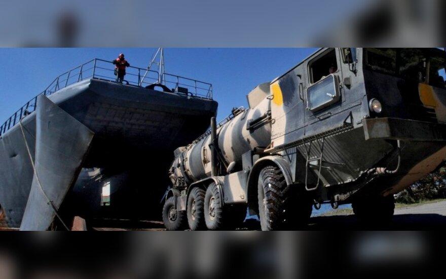 Rusija Baltijos jūroje išbandė raketą