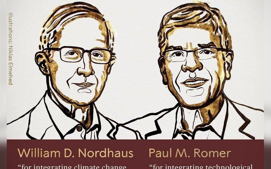 Paskelbti Nobelio ekonomikos laureatai