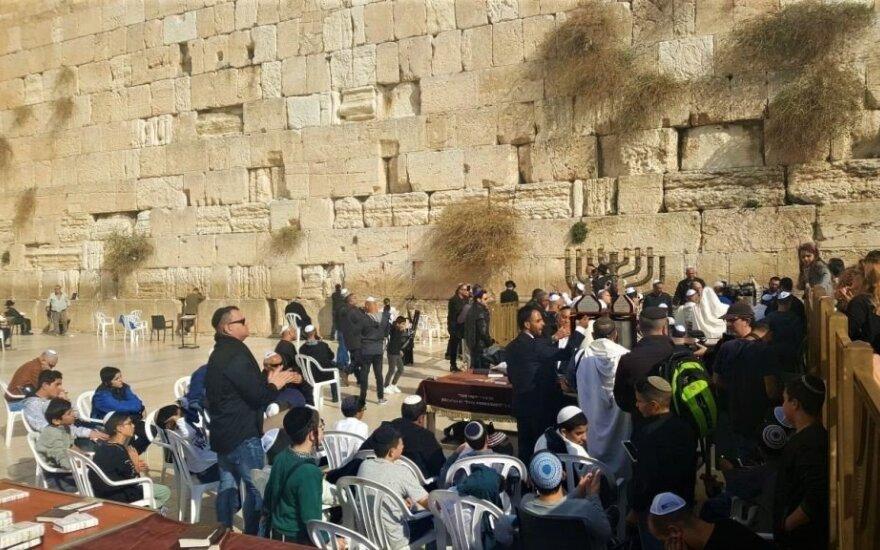 Jeruzalėje nušautas palestinietis, galimai bandęs surengti ataką peiliu