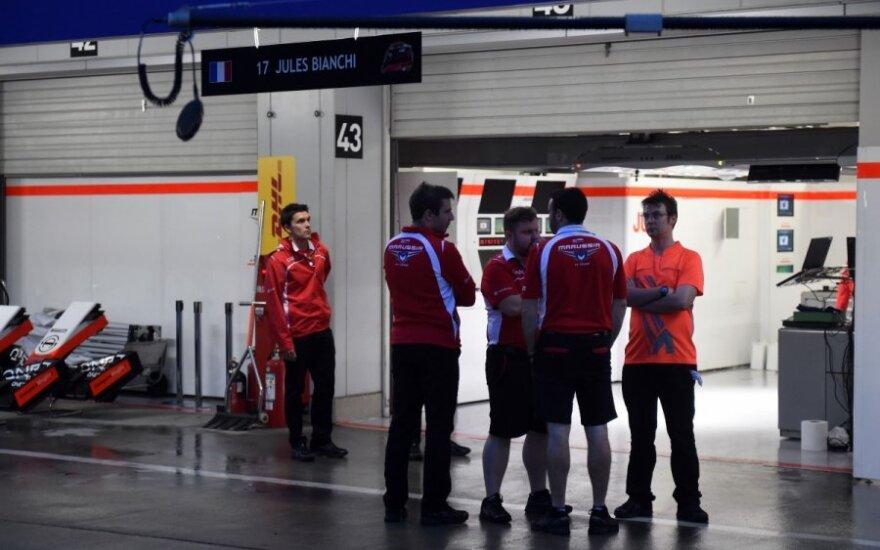 """""""Marussia"""" komandos nariai"""