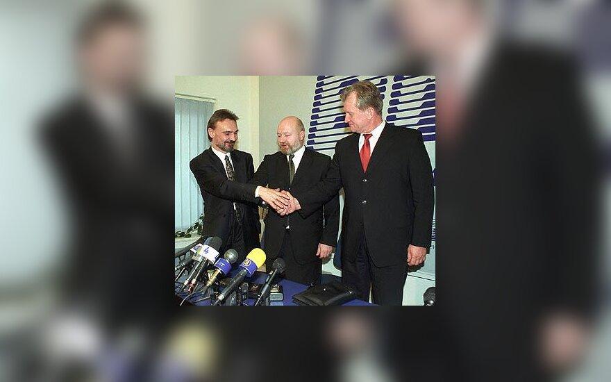 Vytautas Bogušis, Eugenijus Gentvilas ir Kęstutis Glaveckas
