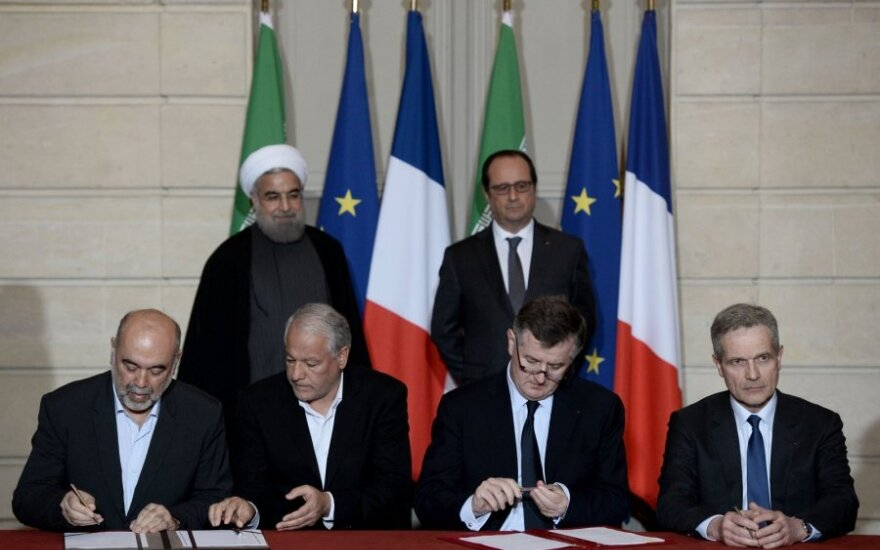 H. Rouhani, F. Hollande'as
