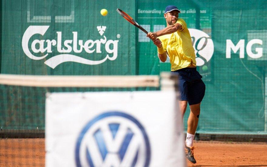 Laurynas Grigelis / FOTO: Lietuvos teniso sąjunga