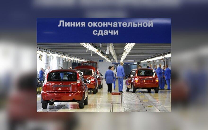 Prognozė: Rusijos automobilių rinka taps didžiausia Europoje