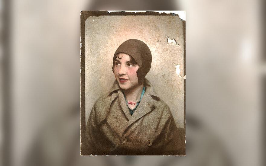 Sena nuotrauka, fotografija, portretas