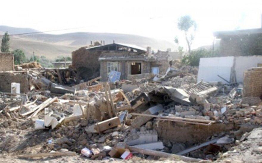 Irane netoli Bušero atominės elektrinės įvyko žemės drebėjimas