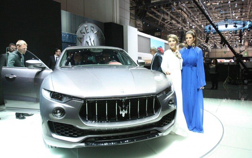"""""""Maserati Levante"""" visureigis pasirodė pasauliui"""