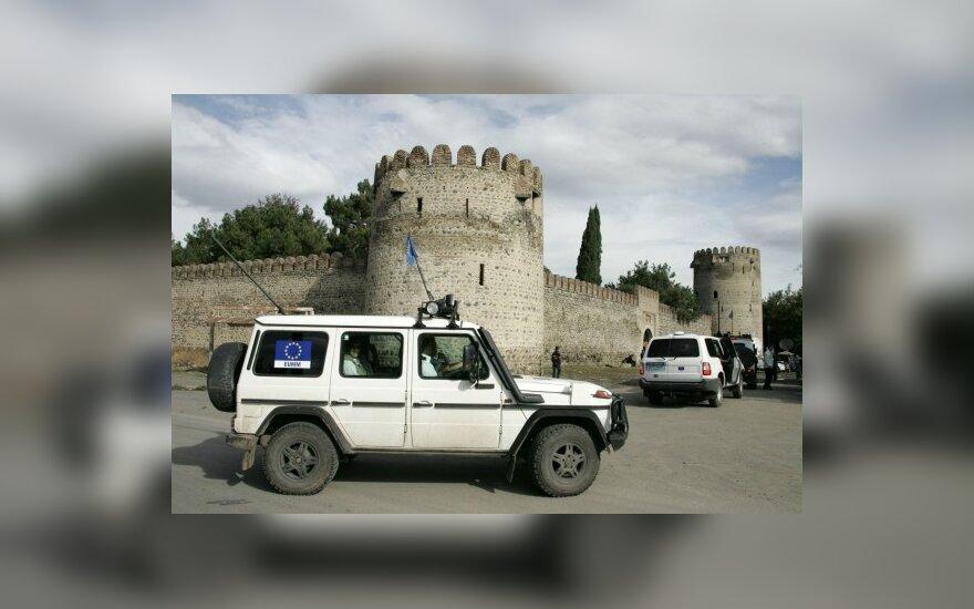P.Osetijos separatistai sulaikė ESBO stebėtojus