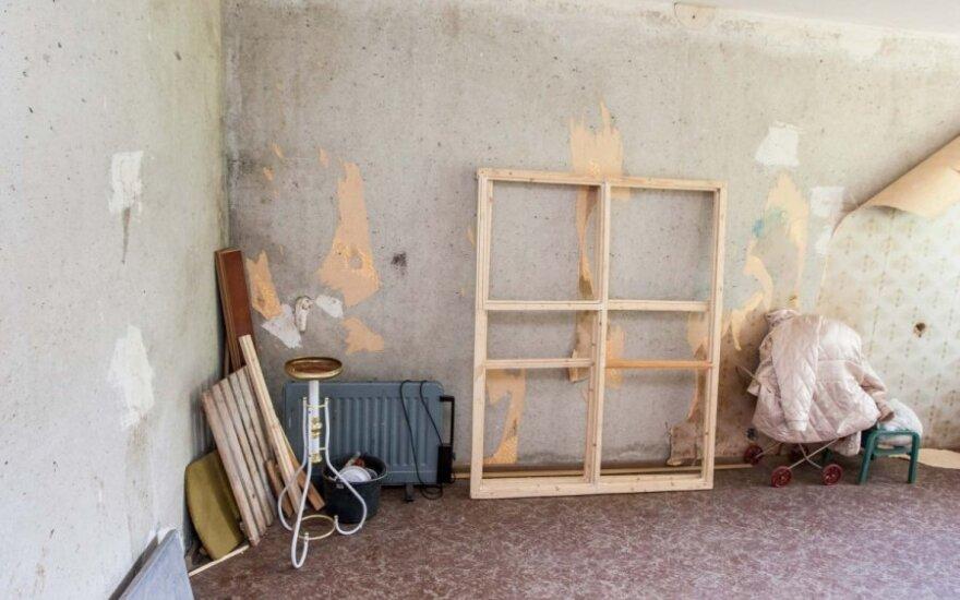 Lietuvoje normalų butą galima gauti už litą