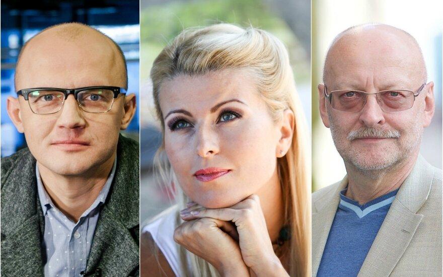 DELFI svečiuosis R. Mikelkevičiūtė, E. Jakilaitis ir R. Valatka