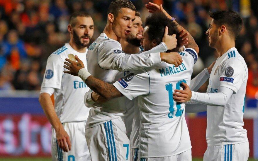 """Čempionų lyga: """"APOEL"""" - Madrido """"Real"""""""