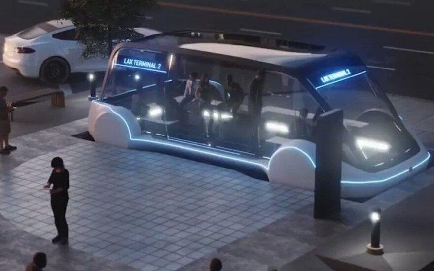 Užburianti Elono Musko vizija