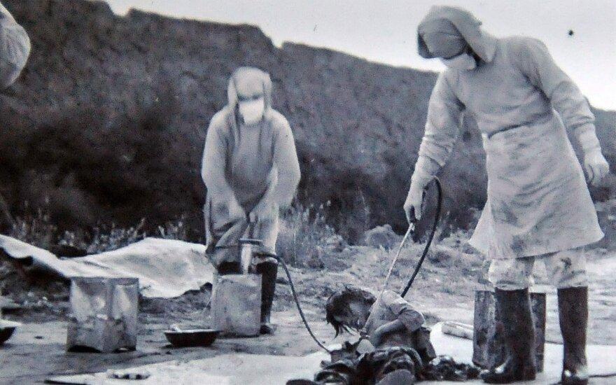 Paviešinta slapta informacija apie 731 būrį: vykdė sunkiai suvokiamus eksperimentus su žmonėmis