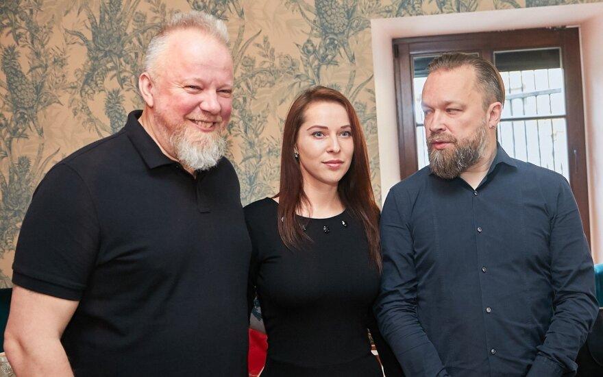 Starkus ir Radzevičiaus keliavo po Lietuvą
