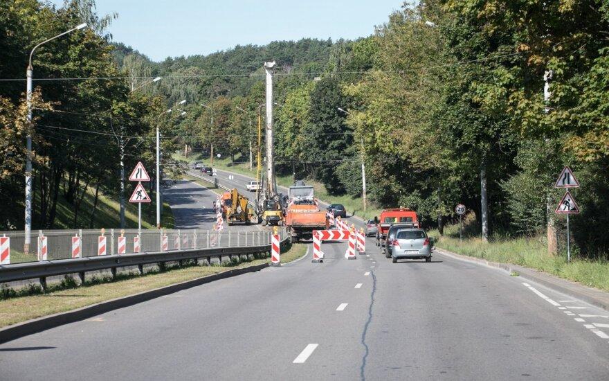 Vilniuje bus ribojamas eismas T. Narbuto gatvėje: vairuotojams pataria rinktis kitus maršrutus