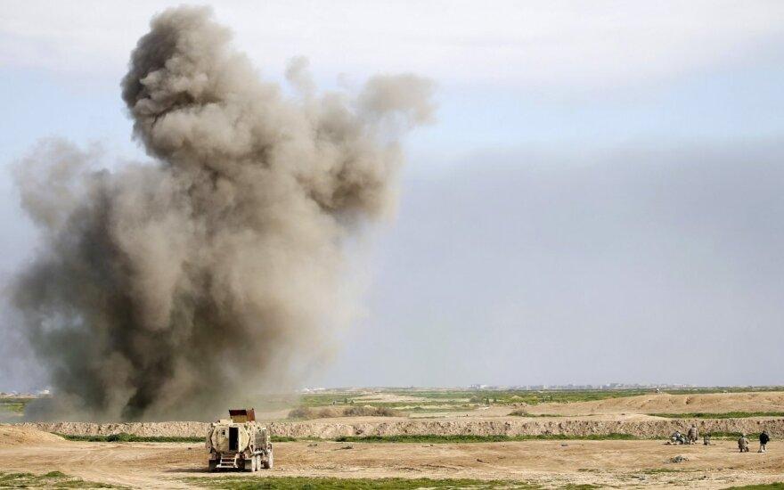 """Irako premjeras: po kovos su """"Islamo valstybe"""" JAV kovinių pajėgų mūsų šalyje neliks"""
