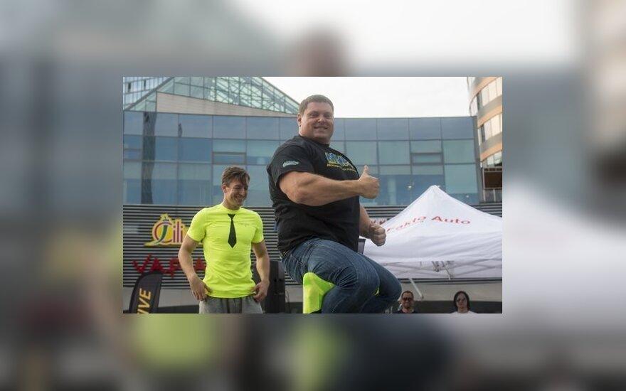 Karolis Valickas ir Žydrūnas Savickas