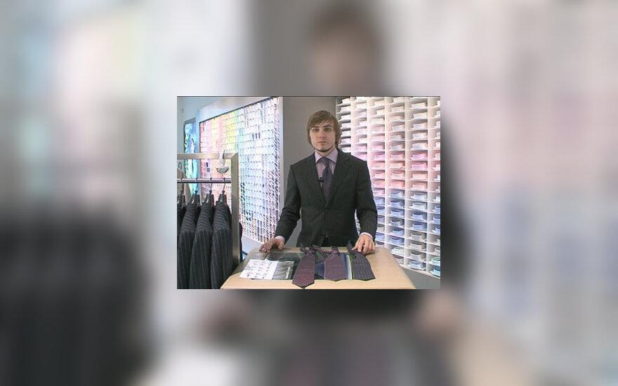Trys kaklaraiščio rišimo mazgai
