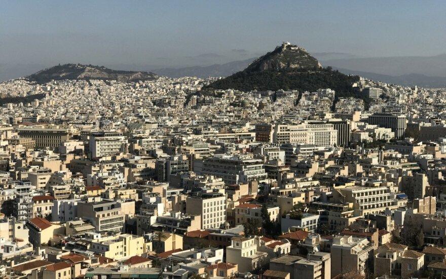 ES sumažins Graikijos ekonomikos augimo prognozę 2017-iesiems