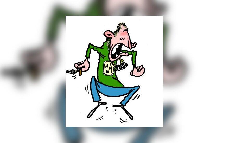 G.Einikis - karikatūra