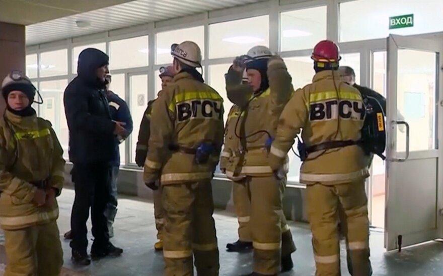 Rusijos kasykloje kilus gaisrui žuvo devyni darbininkai