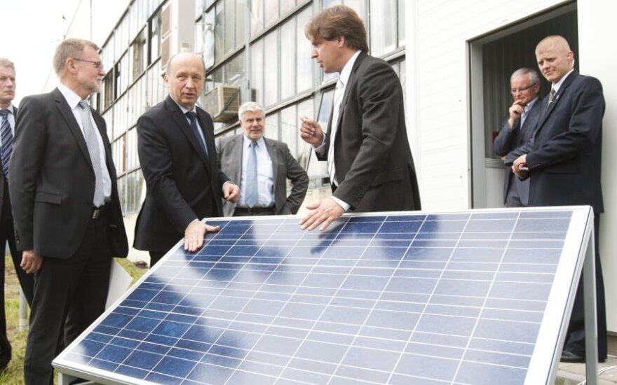 Stabdoma saulės energetikos plėtra išgina planuotas 30 mln. Lt investicijas