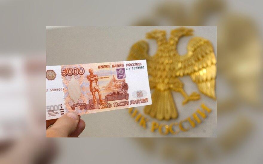Artėjant euro įvedimui Estijos Narvos miesto gyventojai kronas keičia į rublius