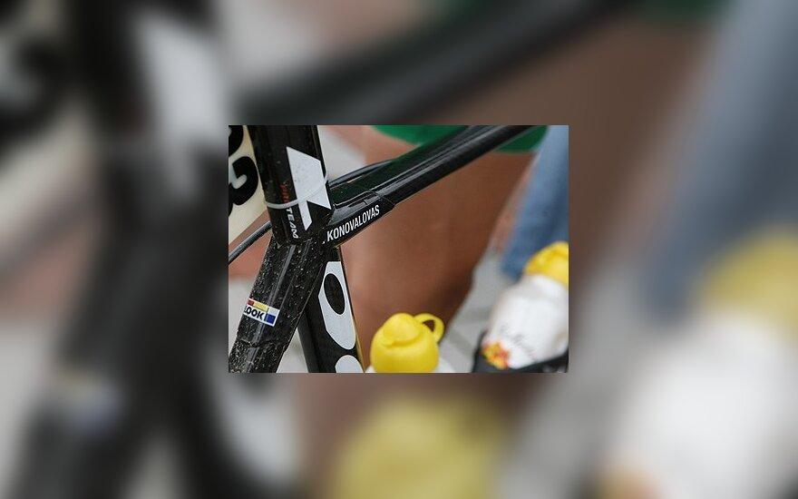 """""""Vuelta a Espana"""" dviratininkų lenktynių XI etapą lietuvis baigė su pagrindine grupe"""