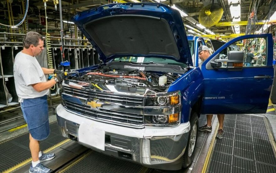"""General Motors"" gamykla (asociatyvi nuotr.)"