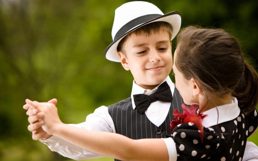 Šokantys vaikai ne tik sveikesni, bet ir brandesni bei labiau disciplinuoti