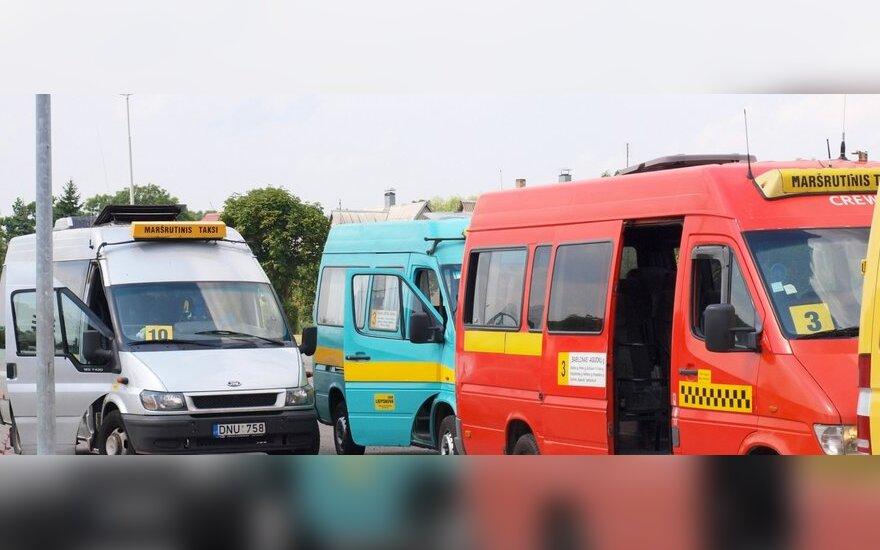 Šiauliai seka sostinės pavyzdžiu – išprašomi maršrutiniai taksi