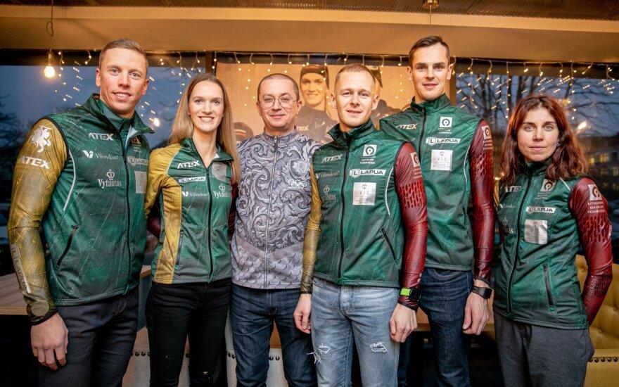 Pogrebnojus pasistengė – dėl naujos Lietuvos biatlono rinktinės aprangos lindo į šaldytuvą
