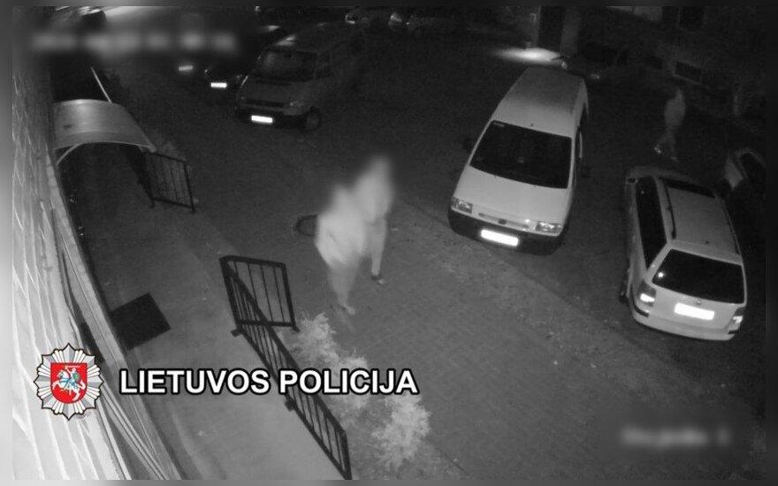 Klaipėdoje sulaikyti du asmenys, įtariama, vogę automobilių žibintus