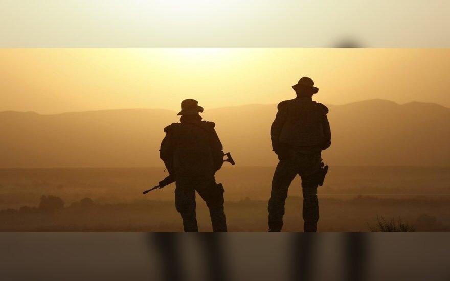 Vokietija išves savo kariuomenę iš Afganistano, jeigu JAV pasitrauks iš ten