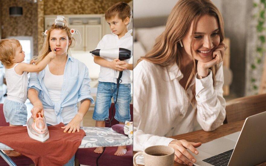 Klišės, su kuriomis kovoja EP: moteris – namų šeimininkė ir mažiau uždirbanti už savo kolegas vyrus