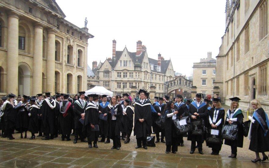 Aurimas Vyšniauskas Oksfordo universitete