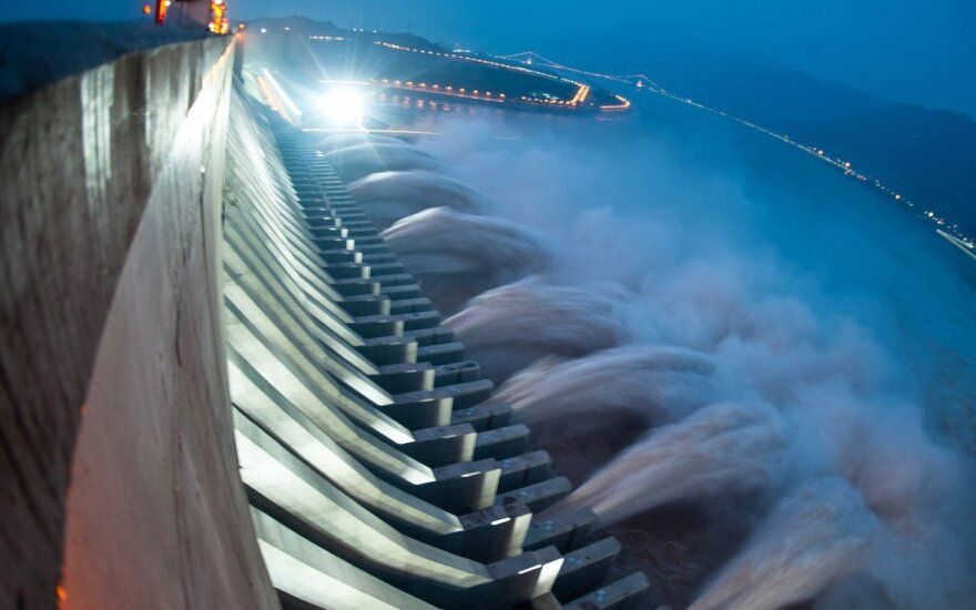Hidroelektrinė Kinijoje