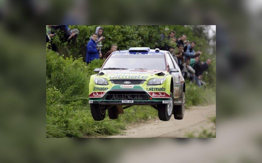 WRC: Lenkijoje pirmauja M.Hirvonenas