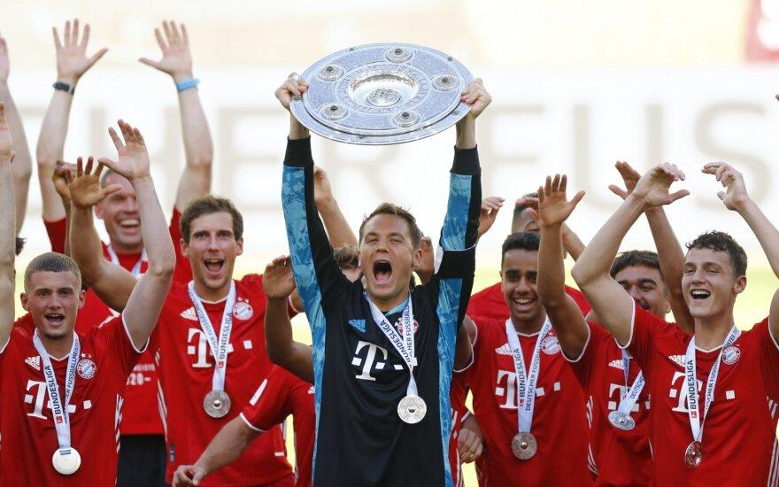 Miuncheno Bayern futbolininkai