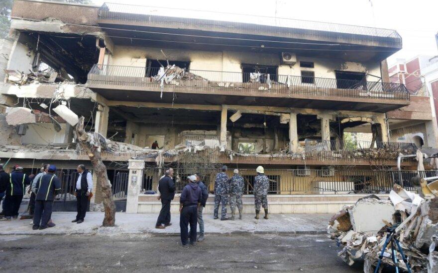 Damaskas po Izraelio antskrydžių