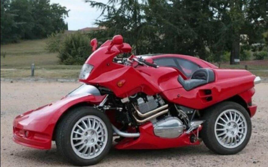 Snaefell motociklas