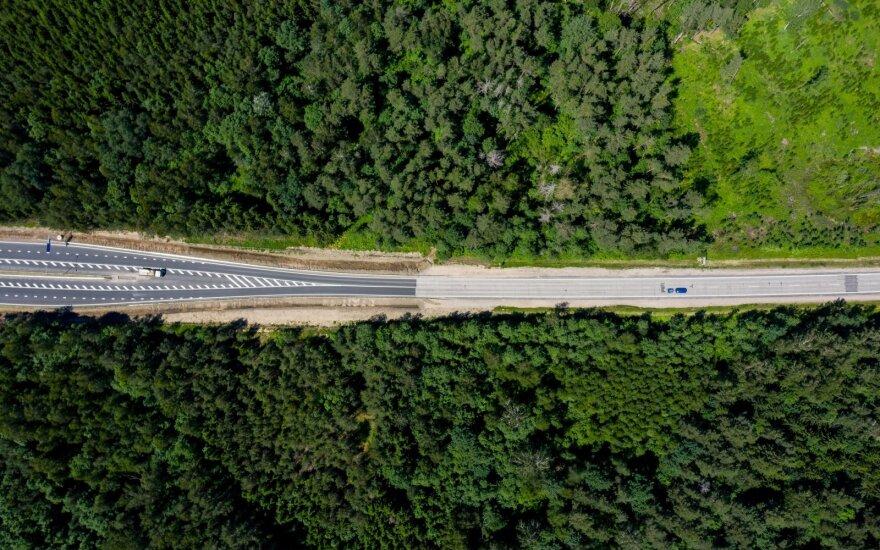 Kitų metų biudžete siūloma skirti lėšų keliui Vilnius-Utena