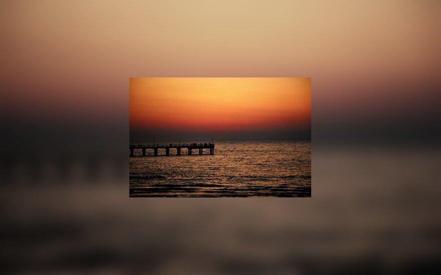 Palangos tiltas, pajūris, Baltijos jūra