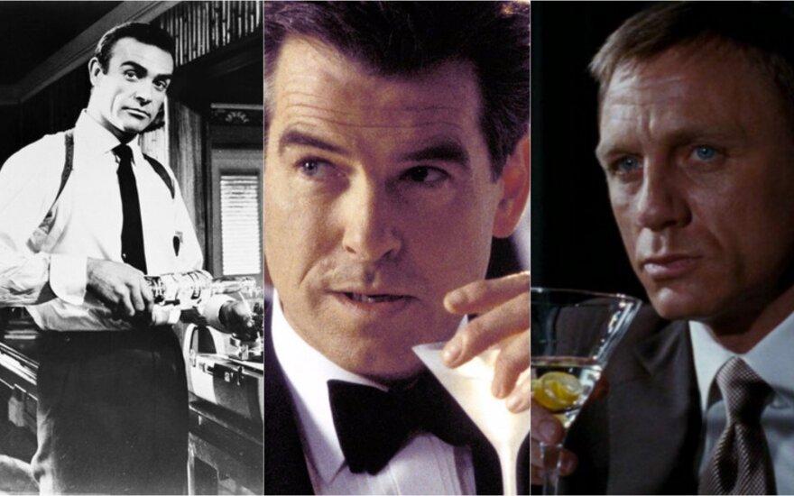 Aktoriai, vaidinę Džeimsą Bondą