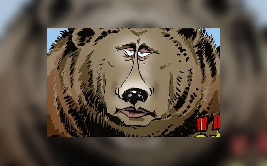 """Lenkija bijo Rusijos """"meškos"""""""