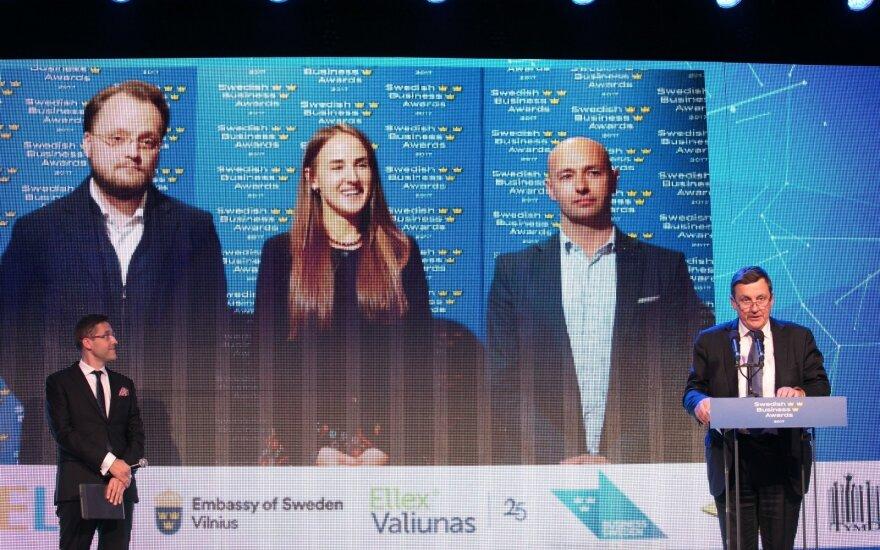 Paskelbti Švedijos verslo apdovanojimų 2017 nugalėtojai