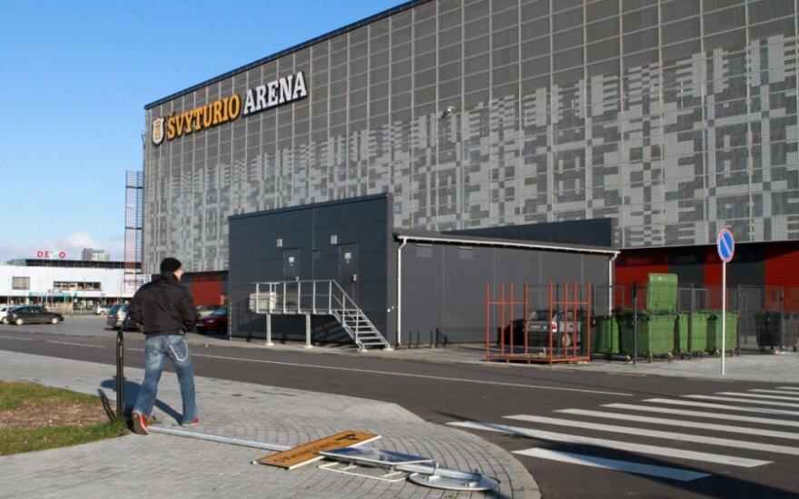 """""""Švyturio"""" arenos valdytojams Klaipėdos valdžia nubraukė nuomos mokestį"""